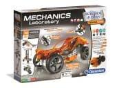 Clementoni Tudomány és Játék - Mechanikai labor - Narancssárga autó