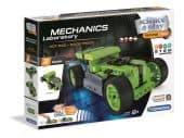 Clementoni Tudomány és Játék - Mechanikai labor - Hot rod, felhúzható