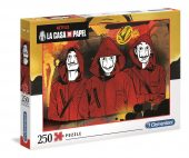 Clementoni 250 db-os puzzle - A nagy pénzrablás