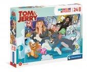 Clementoni 24 db-os SuperColor Maxi puzzle - Tom és Jerry