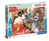 Clementoni 104 db-os SuperColor puzzle - Tom és Jerry 2.