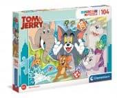Clementoni 104 db-os SuperColor puzzle - Tom és Jerry 3.