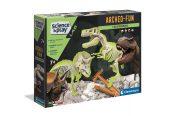 Clementoni Archeofun - Világító T-Rex és Triceratops