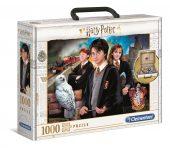 Clementoni 1000 db-os puzzle - Harry Potter - bőröndben