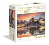 Clementoni 1000 db-os puzzle - Mont-Saint-Michel