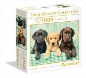 Clementoni 1000 db-os puzzle - Labrador kölykök