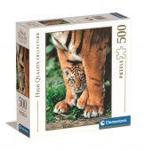 Clementoni 500 db-os puzzle - Bengáli tigriskölyök