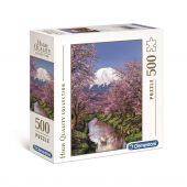 Clementoni 500 db-os puzzle - Fuji