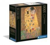 Clementoni 1000 db-os puzzle Múzeum Kollekció - Klimt - Csók