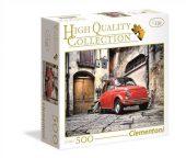 Clementoni 500 db-os puzzle - Fiat 500